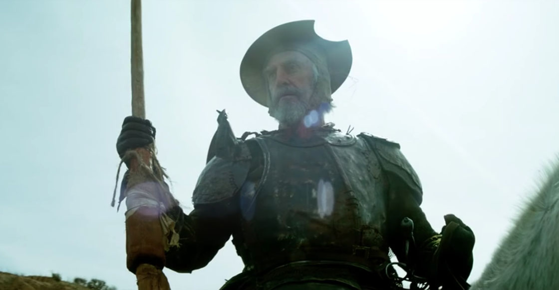 ¡Por fin! Ve el tráiler de 'The Man who killed Don Quixote' de Terry Gilliam