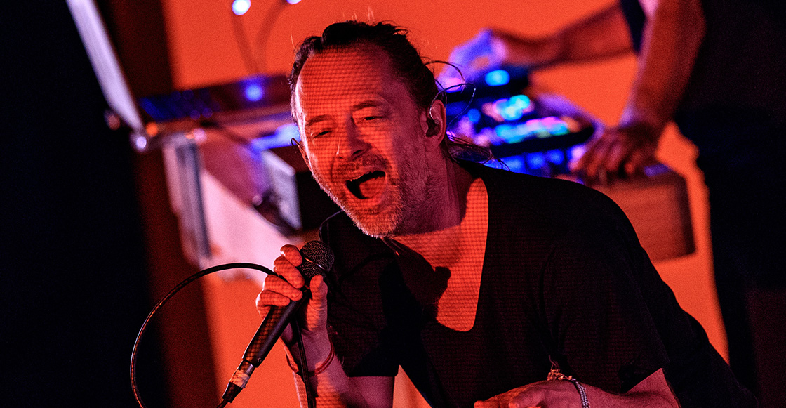 ¡Mágico! Thom Yorke calmó al ruidoso público argentino cantando a capella