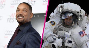 Will Smith entrevistó a un astronauta y la cosa se puso buena