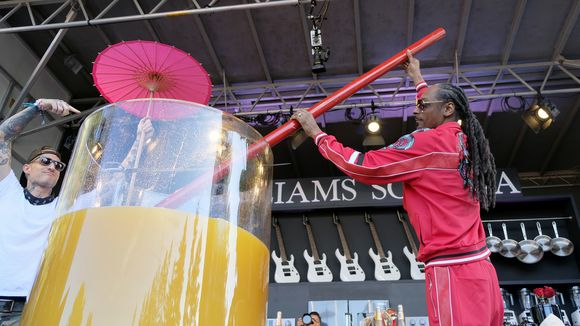 Esta es la bebida con la que Snoop Dogg rompió el Récord Mundial Guinness
