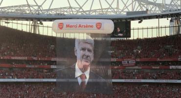 Merci Arsène: Así se vivió la despedida a Wenger desde el Emirates Stadium