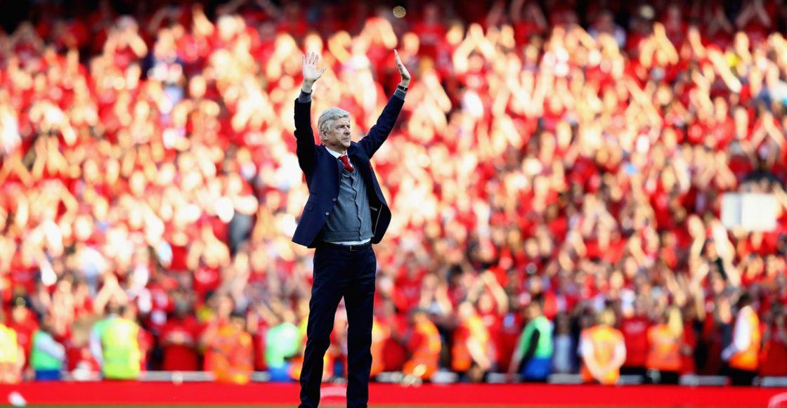 Último partido de Arsene Wenger