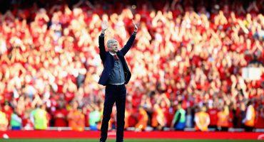 Así se vivió la despedida de Arsene Wenger en el Estadio del Arsenal