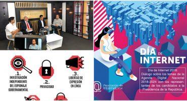 #DíaDeInternetMX2018 De qué van las propuestas de los presidenciales en la agenda digital