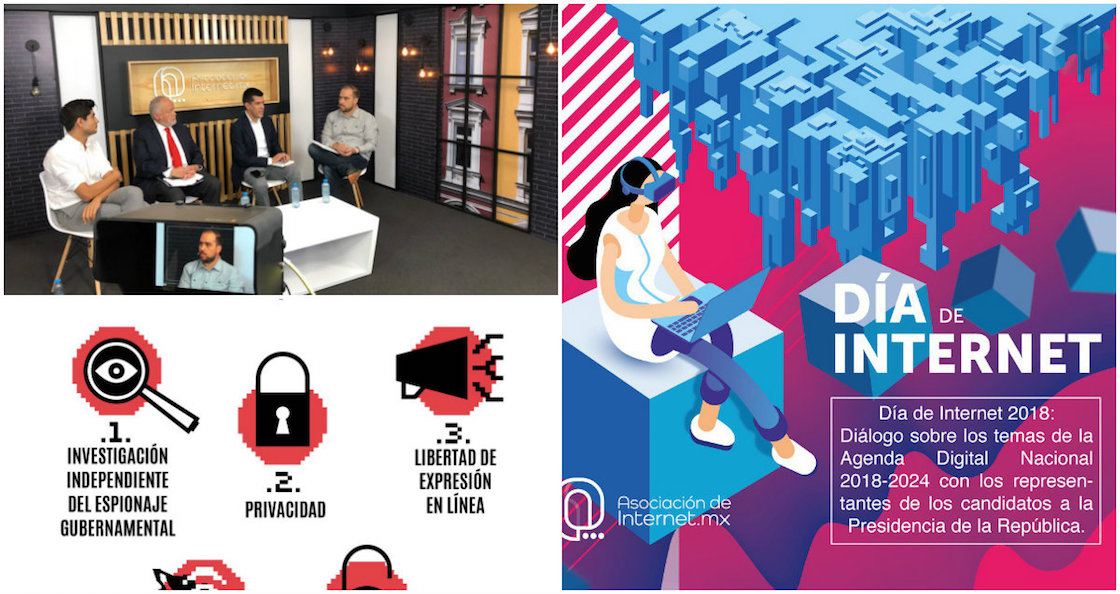 Agenda digital nacional elecciones 2018 candidatos Juntos Haremos Historia Todos por México Por México al Frente
