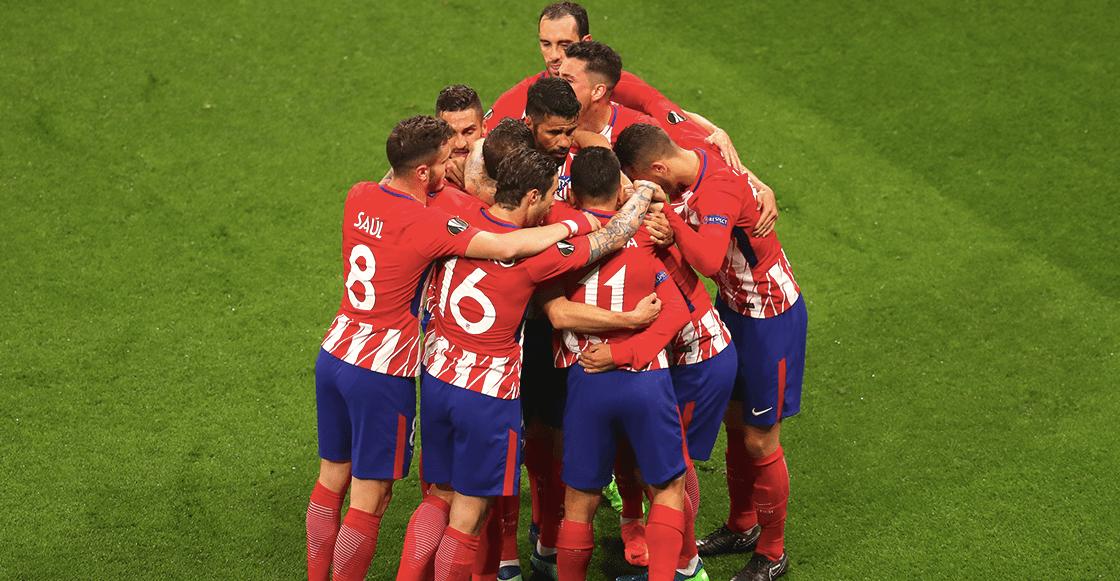 Atlético de Madrid campeón de Europa League
