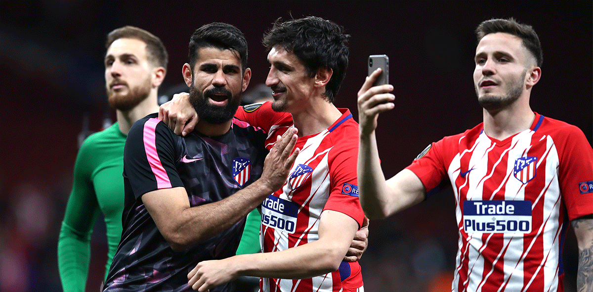 Atlético de Madrid en la final de Europa League