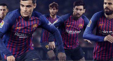 Así es la nueva camiseta del Barcelona temporada 2018-19