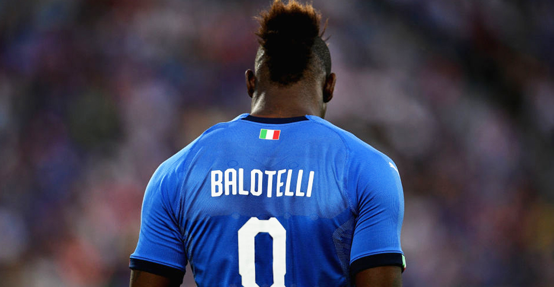 Mario Balotelli en Italia