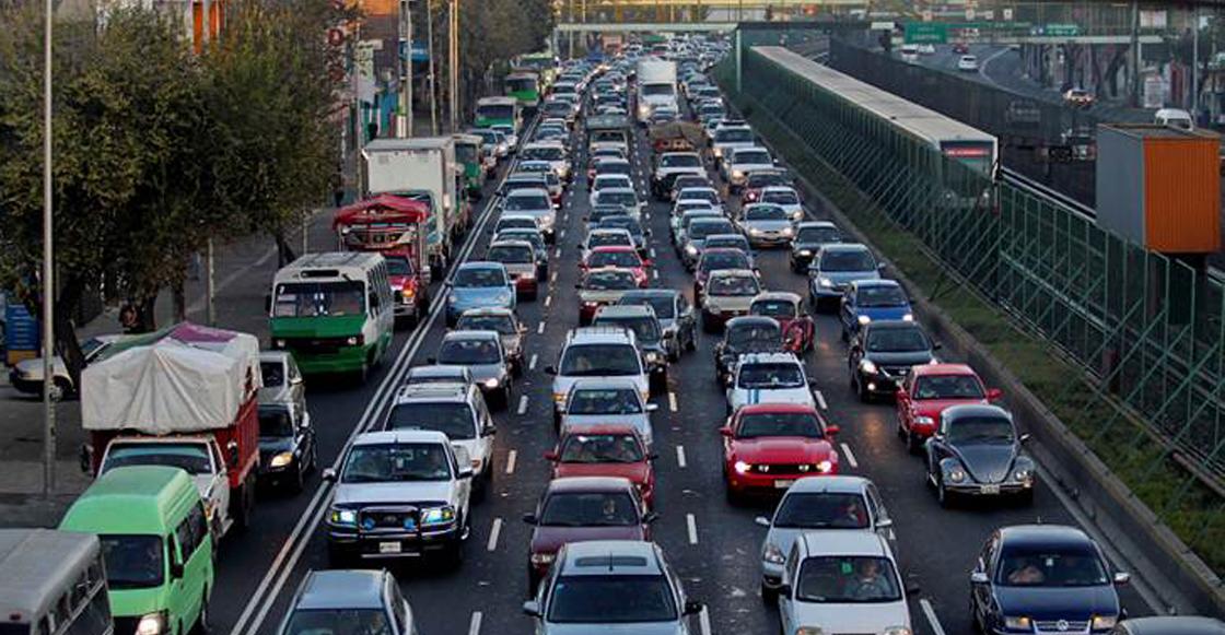 CDMX tráfico