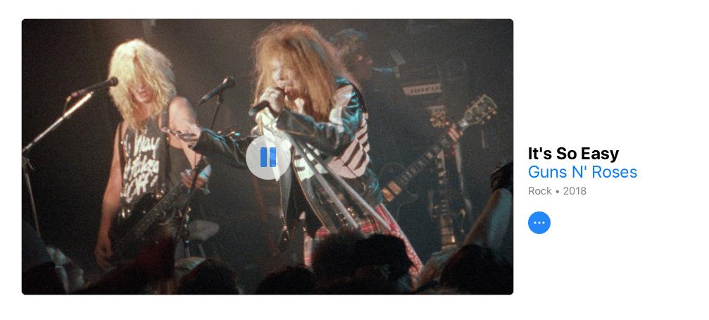 """Guns N' Roses lanza el video de """"It's So Easy"""" que MTV prohibió 30 años atrás"""