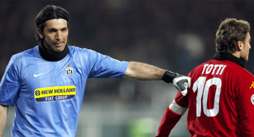 Checa la emotiva carta de Totti a Buffon 😢