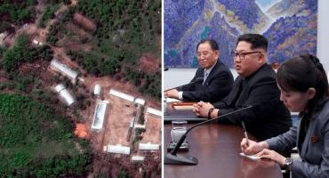 ¿Corea del Norte ya destruyó su centro de pruebas nucleares?