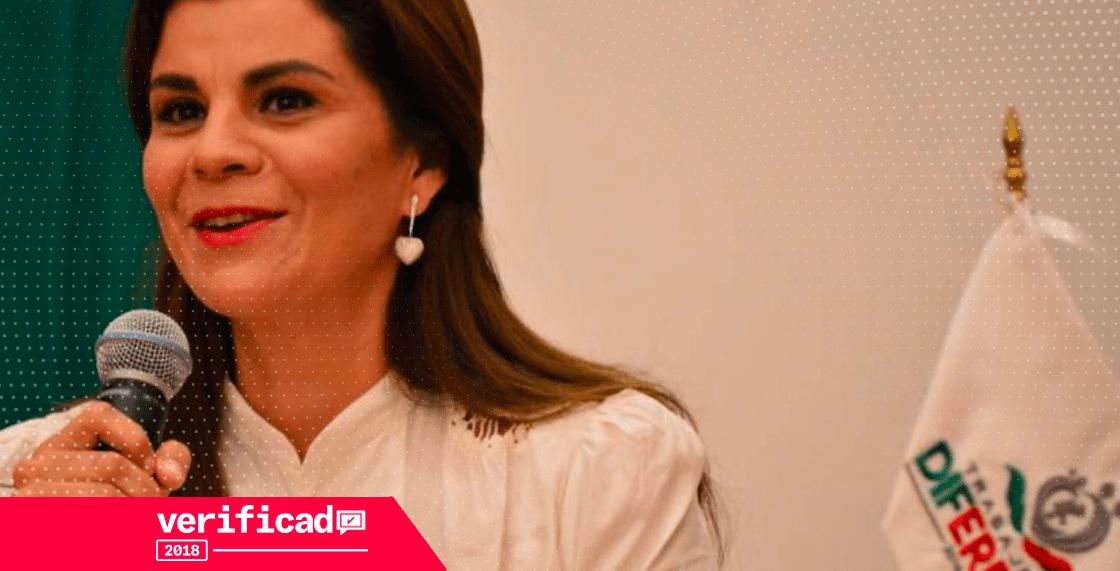 Cristina Rodríguez primera dama de Zacatecas