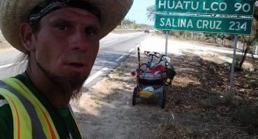 Hallan cuerpo de ciclista polaco desaparecido en Chiapas, continúa búsqueda de alemán