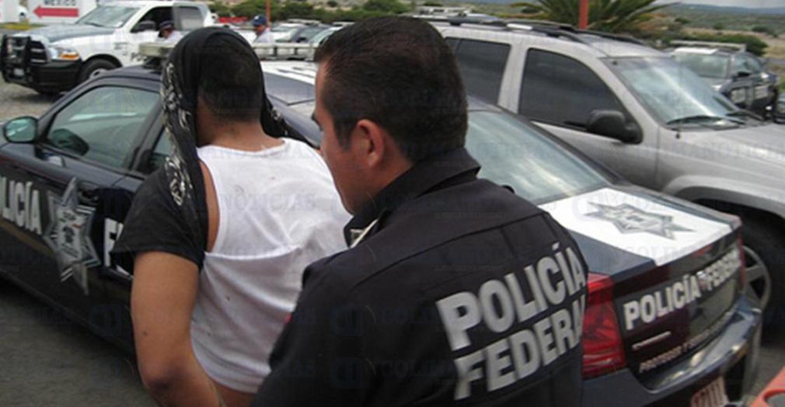 Detención Policía federal
