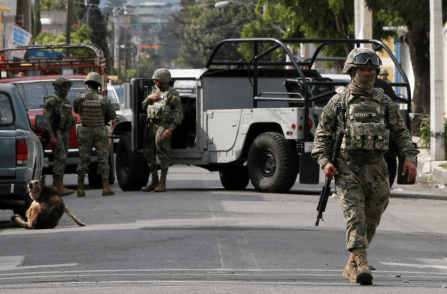 Ejército Ley de Seguridad Interior