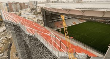 Ekaterinburg Arena: México jugará en un estadio con gradas improvisadas