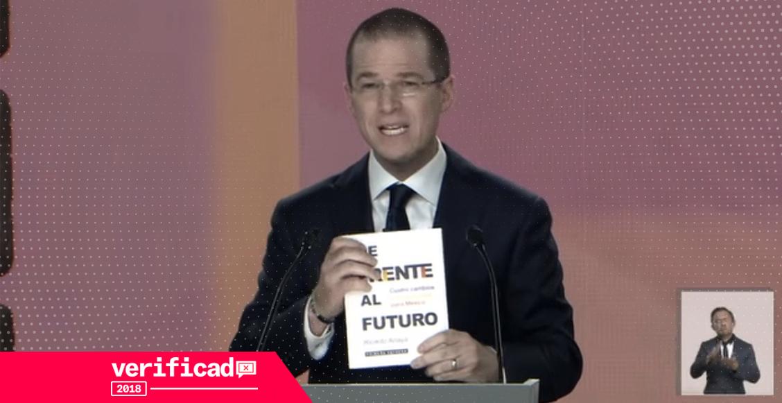El libro de Ricardo Anaya