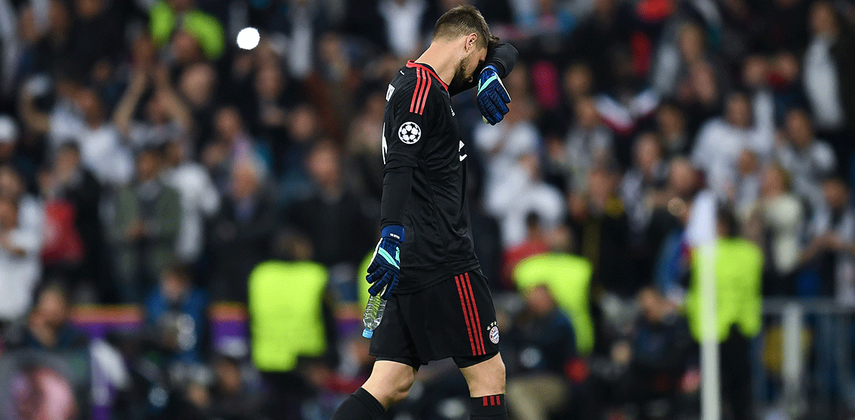 Ulreich error ante el Madrid