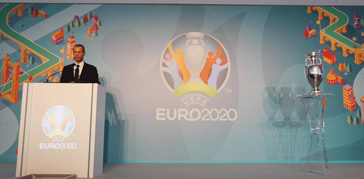 Revelaron calendario para Eurocopa 2020