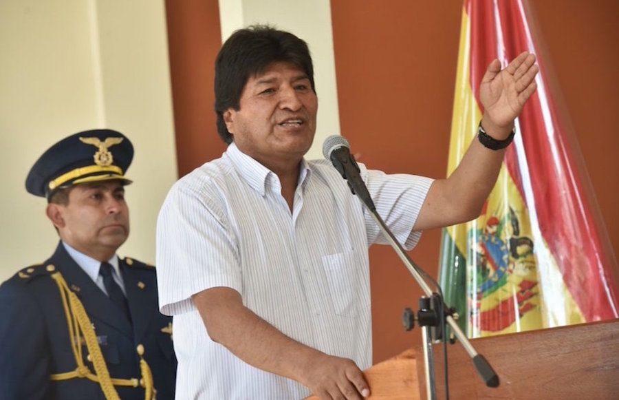 Evo Morales Twitter Bolivia