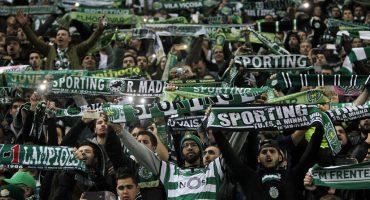Fans golpean a jugadores del Sporting de Lisboa