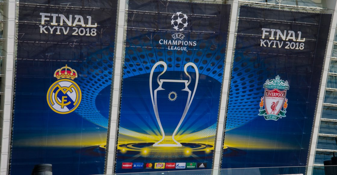 Final UEFA Champions League Real Madrid vs Liverpool