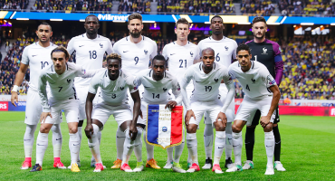 Sin Benzema y sin Gignac, Francia dio lista para Rusia 2018