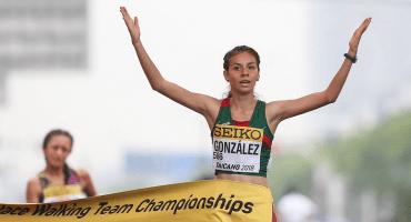 Alegna González nos da el segundo oro en el Mundial de Marcha