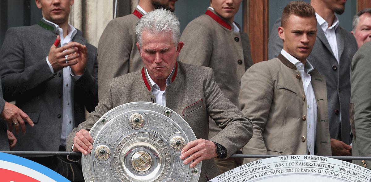 """""""Wish you were here"""", así despidió el Bayern a Jupp Heynckes."""