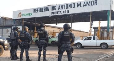 Indagan a mandos de la refinería Ingeniero Antonio de Salamanca, Guanajuato por robo de combustible