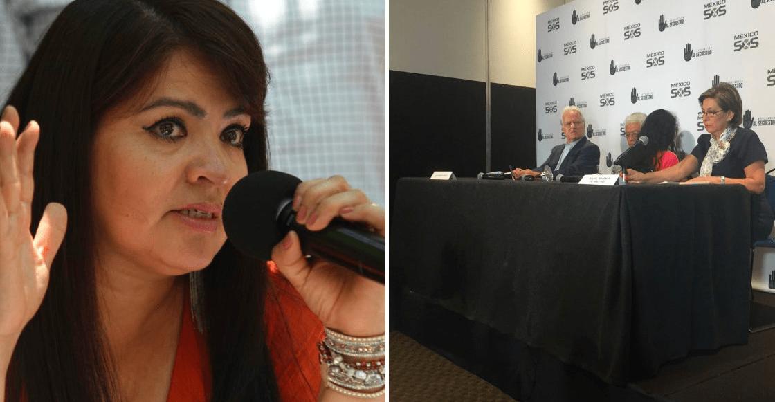 Isabel Miranda de Wallace denuncia Nestora Salgado