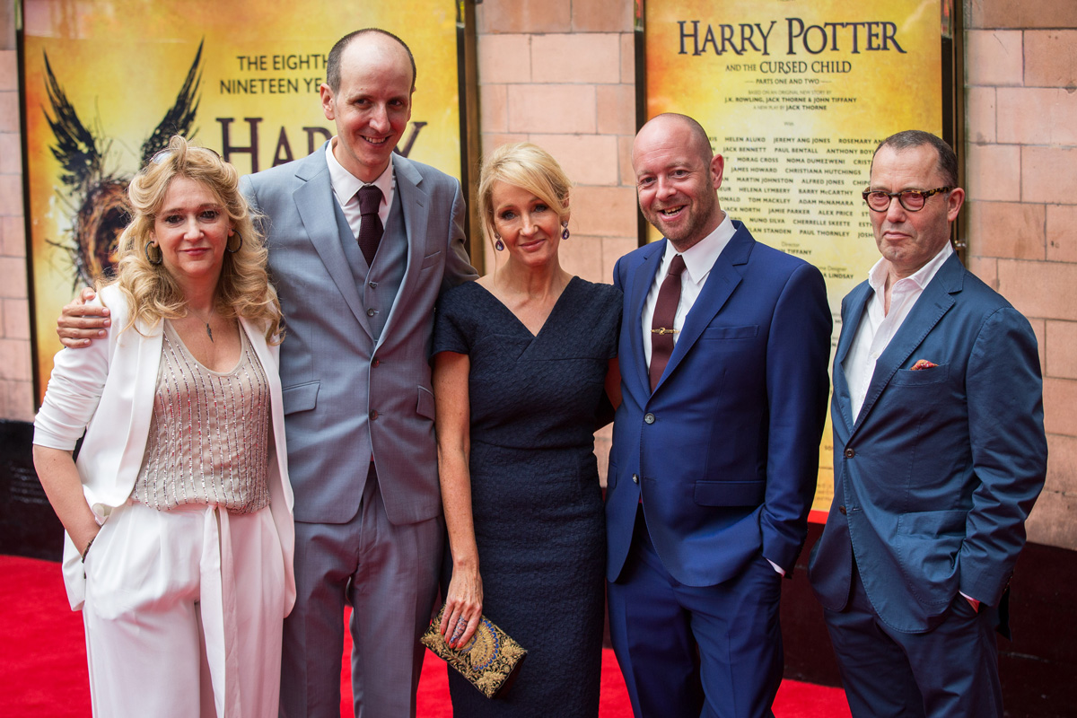 J.K. Rowling autora de Harry Potter