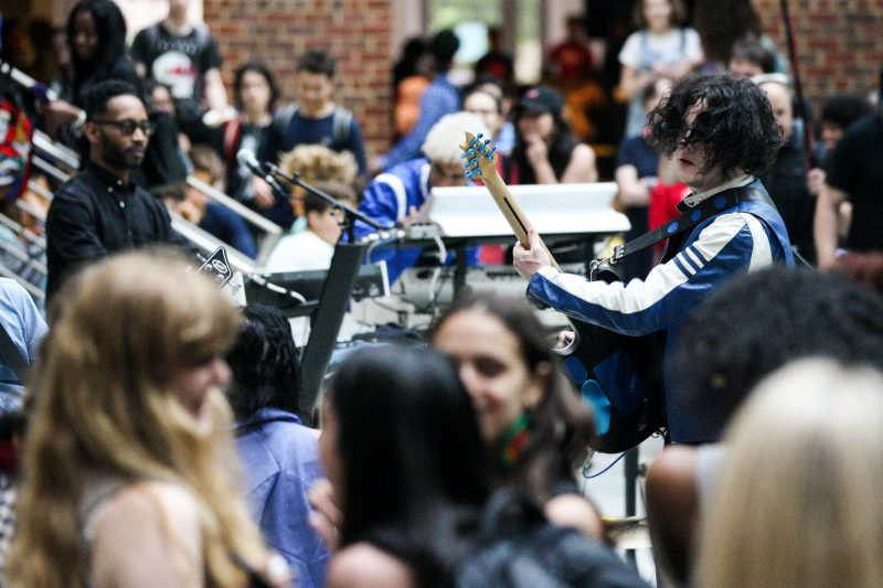 Jack White concierto escuela 2
