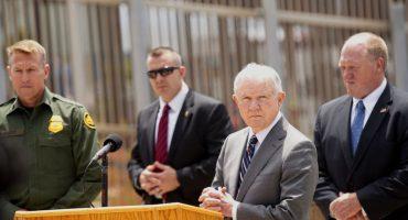 La frontera no está abierta: Sessions advierte separación de familias de migrantes ilegales