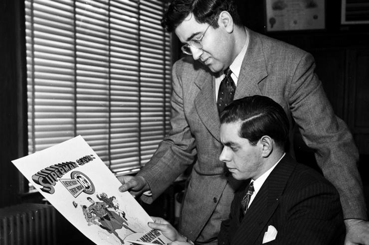 Jerry Siegel y Joe Shuster