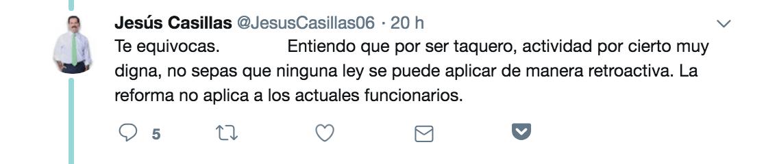 Jesús Casillas senador del PRI
