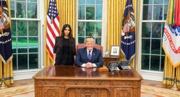 Y en la imagen del día: Kim Kardashian y Donald Trump se reúnen en la Casa Blanca