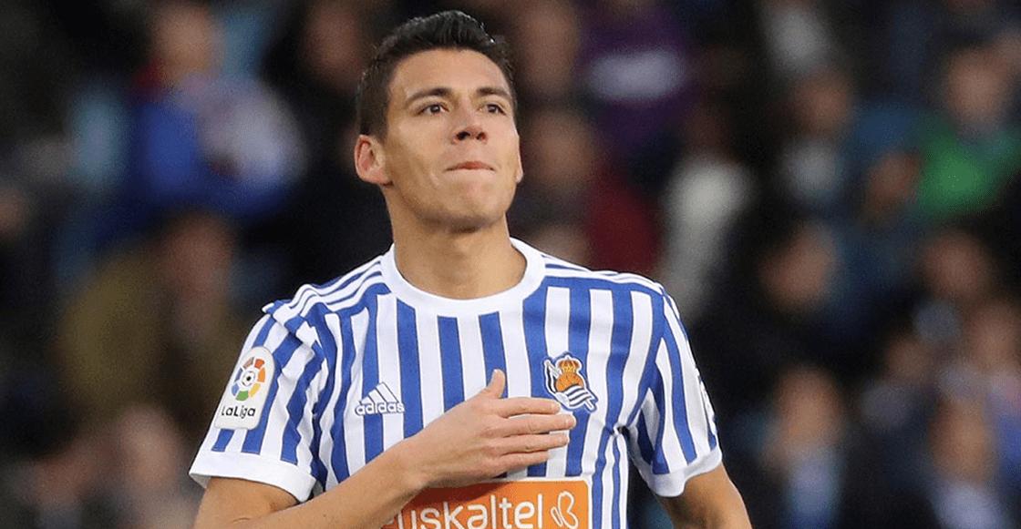 Héctor Moreno se lesionó con la Real Sociedad