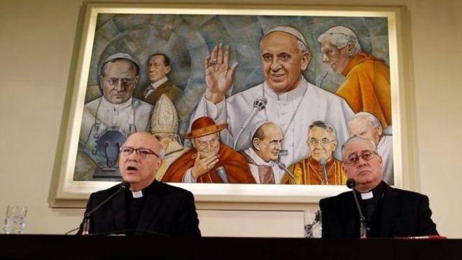 Los obispos también pidieron perdón a Chile, a las víctimas de abusos y al Papa por el escándalo