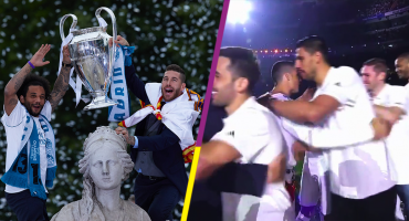 Un mexicano fue felicitado por Cristiano en los festejos del Real Madrid