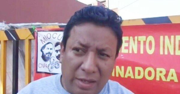 Manuel Gaspar, activista asesinado en puebla