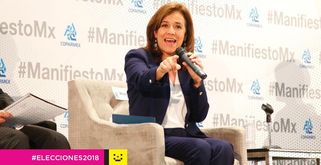 ¡Lástima Margarita! Zavala anuncia su retiro de la candidatura presidencial
