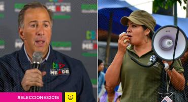El recurso interpuesto por Nestora Salgado contra Meade fue desechado