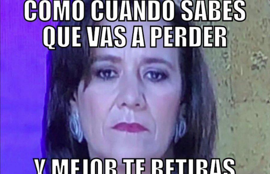 Memes Margarita Zavala dimisión de candidatura independiente elecciones 2018