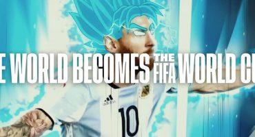 Los hermanos Dos Santos, Deadpool, Messi Sayayin en el spot mundialista de Fox Sports