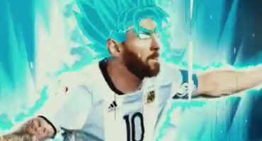 Crack, Messi se transforma en... ¡Súper Saiyajin!