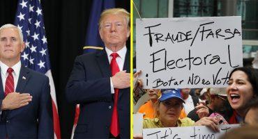 Mike Pence Donald Trump sanciones a Venezuela elecciones una farsa