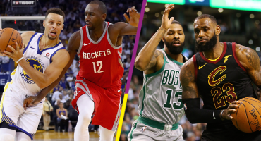 ¡Preparen la botana! Mañana inician las finales de conferencia de la NBA